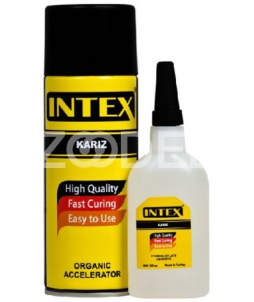 Intex Two Component 125 gr All Purpose Adhesive