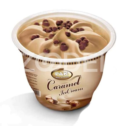 Caramel Ice Cream in Cup 120 gr