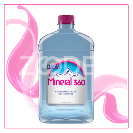 Mineral Water Natural Non Carbonated 450 cc