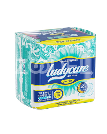 Semi Ultra Thin Feminine Napkins With Wings Ladycare Brand
