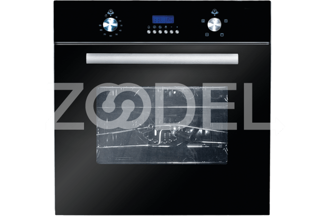 Electric Oven Built In 59 Liters With Double Glazed Glass Timer Maximum Temperature Of 250°C Model 6500EGB Can Brand