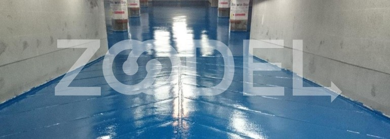 Flooring Modified Epoxy High Strength For Concrete and Metal Structures Brand Alvan Zhik 1003