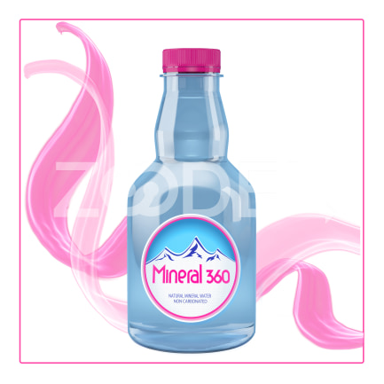 Mineral Water Natural Non Carbonated 250 cc Bottle Mineral 360