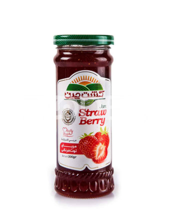 Strawberry Jam 300 gr Kesht Chin Food Industry