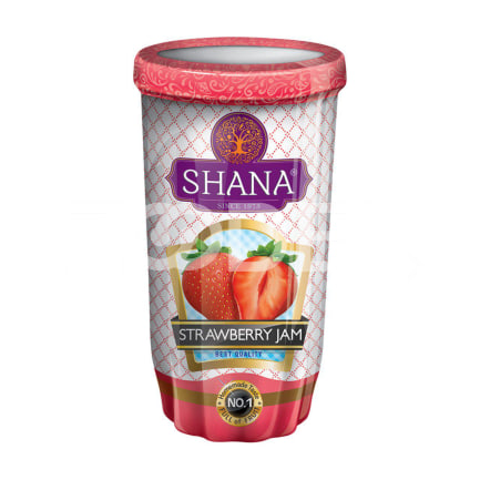 Strawberry Jam 215 Gr Jar Shana Company