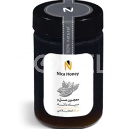 Honey and Black Seed 350 g Nika Brand