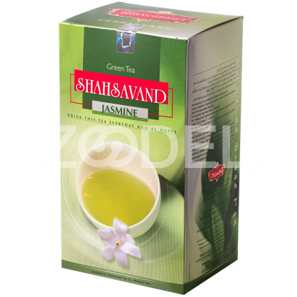 Green Tea with Jasmine 90 gr Shahsavand Zarrin
