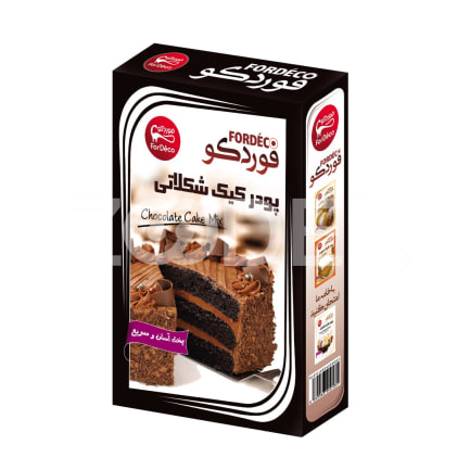 Chocolate Cake Powder 500 gr Fordeco