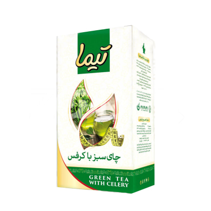 Green Tea With Celery 210 g Package Tima Brand