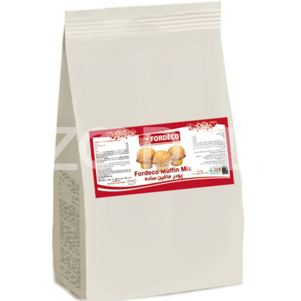 Muffin Powder Flavored Vanilla 5 kg Fordeco