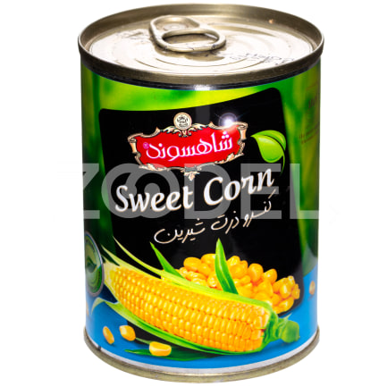 Canned Sweet Corn 380 g Shahsavand