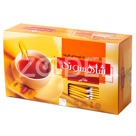 Tea Bag 100 Pcs Shahsavand Zarrin