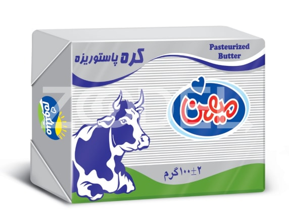 Pasteurized animal butter packed 100 g homeland