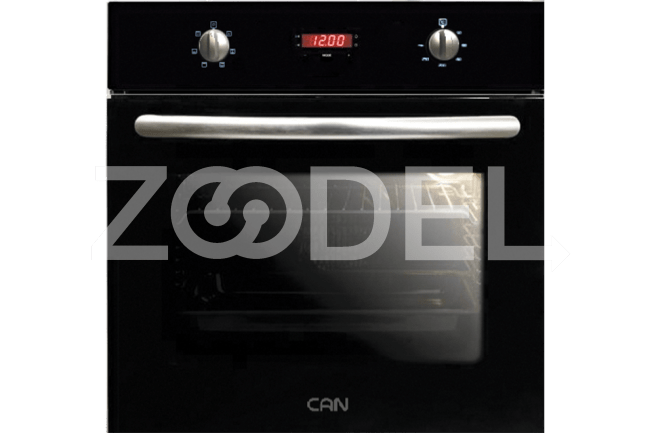 Electric Oven Built In 59 Liter With Double Glazed Glass Timer Maximum Temperature of 250°C Model TC367 Can Brand