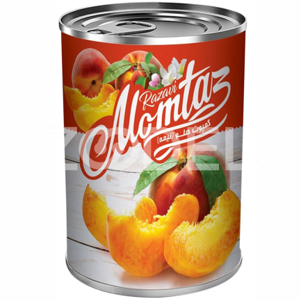 Canned Peaches 380 gr Momtaz Razavi