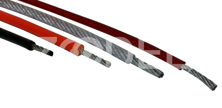 Wire rope coatings