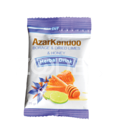 Honey and Borage and Dried Lime Herbal Tea 20 g Azar Kandoo