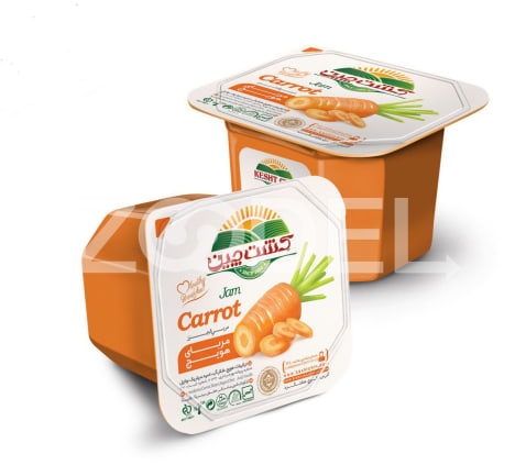 Carrot Jam 200 gr Kesht Chin Food Industry
