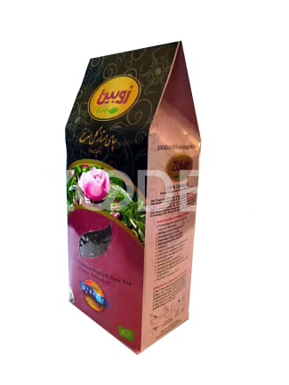 Tea With Damask Rose Premium 100 Organic 200 g Package Zubin Brand