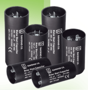 Electro-starter electrolytic capacitor
