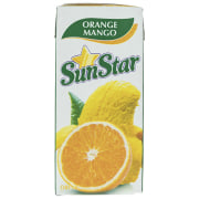 Sunstar Orange Mango Drinking Without Pulp Gas 0.2lit