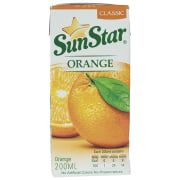 Sunstar Orange Juice 0.2lit