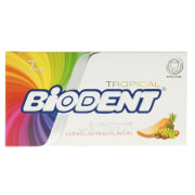 Biodent Tropical Sugar Free Chewing Gum