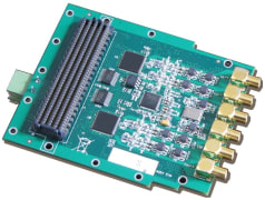 High Pin Count FMC Module 4- Channel 16-bit