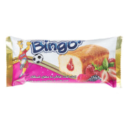 Bingo Strawberry Oatmeal Cake With Zinc Enriched Apricot Brain 65gr