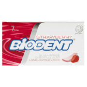 Biodent Strawberry Sugar Free Chewing Gum