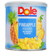 Dole Pinapple Slice In Heavy Syrup - 439 gr