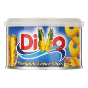 Divo Pineapple Slices In light Syrup 227gr