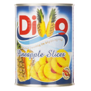 Divo Pineapple Slices In light Syrup 565gr