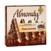 Almondy Toblerone Chocolate Cake without Gluten 1000gr