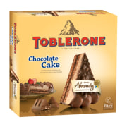 Almondy Toblerone Chocolate Cake without Gluten 400g
