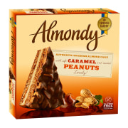 Almondy Caramel and Peanut Cake without Gluten 450gr