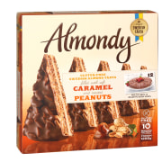 Almondy Caramel and Peanut Cake without Gluten 1200gr