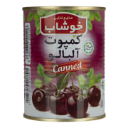 Canned Sour Cherries - 350 gr - Khoushab Brand