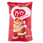 Pech Pech Strawberry Croissant 60gr Pack Of 6