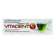 Biodent Flavored of Green Tea Lemon Contains Vitamin C Sugar Free Chewing Gum