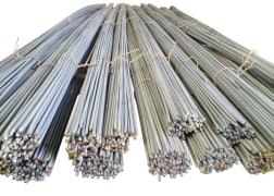 Steel bars size 10-32