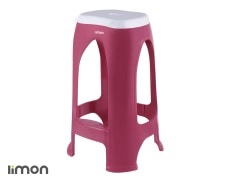 Stool - Plastic - Tall - Limon Brand