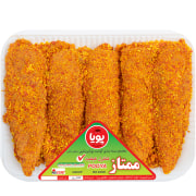 Chicken Fillet With Bread Crumbs - 900 gr - Pooya Protein