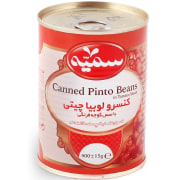 Canned Pinto Beans in Tomato Sauce - 400 gr - Somayeh