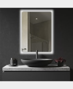 Lighted Mirror - Model: N-R-8050 - Dolphin