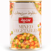Mixed Vegetables Canned - 420 gr - Somayeh