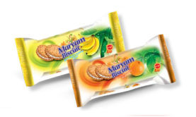 "Creamed Biscuit With Banana & Orange - 38 Gr Pack - ""Maryam"" Brand - Minoo Company"