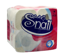 One Pack Of Four White Toilet Tissues,Snail Brand