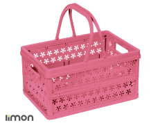 Picnic Basket - Plastic - Without Lid - Collapsible - Limon Brand - Model 31035