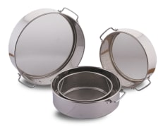 Cooking Sieve - Steel - Size 40*130 mm - Model H263 - Negar Steel Brand